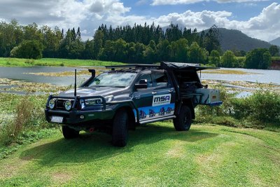 SR5 Toyota Hilux - Outback Country Adventure - MSA 4X4 Accessories
