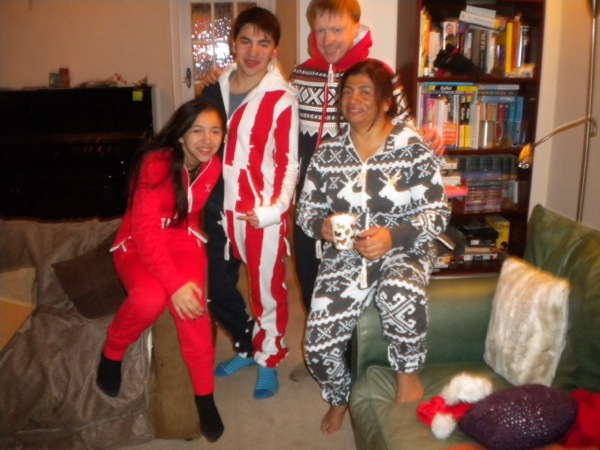 25 12 2012 Family in Onesies 2