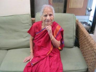 My mum on her 80th birthday