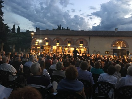 Concert in the Valpolicella area.
