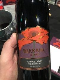 Warr King wines Descendant 2014 Cabernet Franc,Merlot,Petit Verdot,Malbec,Syrah,Cabernet Sauvignon