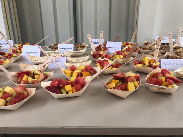 Ensalada de frutas Coffe Break casa museo de la memoria