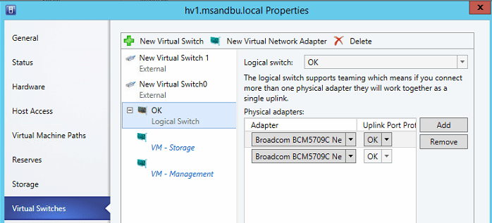 Creating a virtual network for Virtual Machine Manager