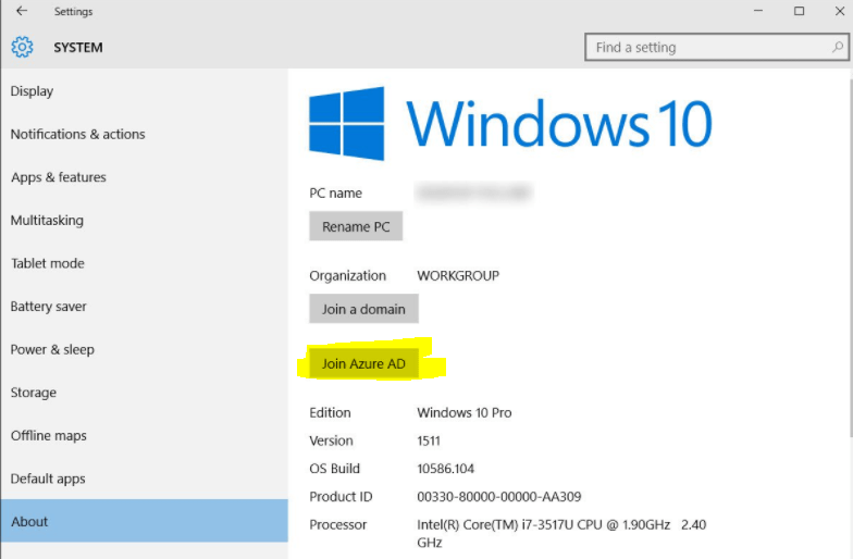 Setting up Citrix SSO with Windows 10 and Azure AD Join