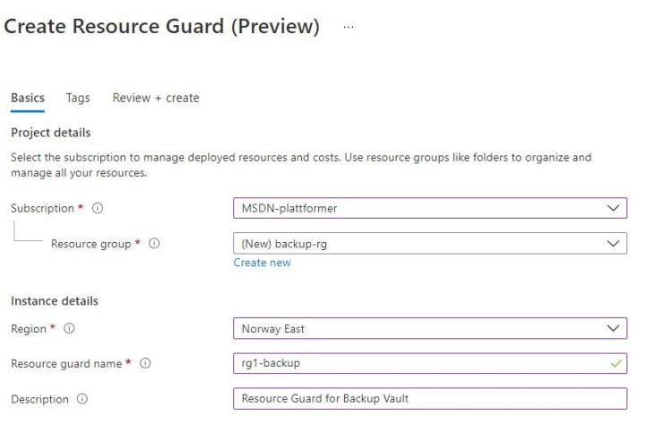 resourceguard