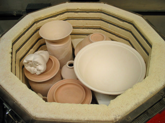 opening the bisque kiln and finding teeth mixed in with the pots