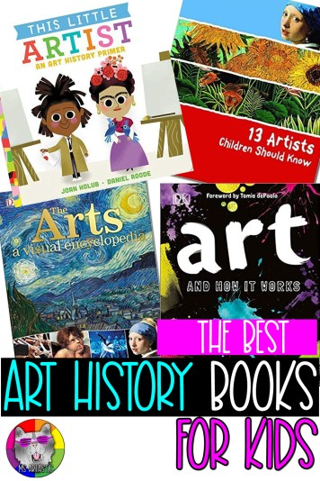 Explore the BEST books that teach about Art History to kids to use for art infused lessons in your classroom, to teach art history to your art students, or to use for creating an art history section in your home library. This comprehensive list explores famous artists and artworks throughout art history. It will provide you with ideas and inspiration for creating art lessons and projects that you can pair with these amazing books to help you teach art history in depth in your classroom.
