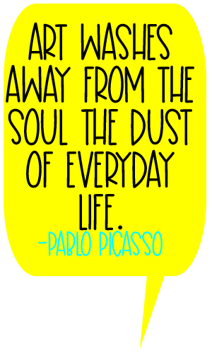 Quote by Pablo Picasso