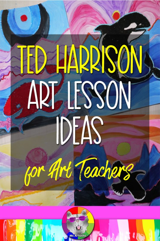 I'm going talk about who artist Ted Harrison is and I'll give you some ideas for Ted Harrison Art Lessons that you can do with your students. Let's learn about amazing Artist, Ted Harrison, and ideas for art lessons that you can teach that are inspired by his style of making art. Let's get into it!