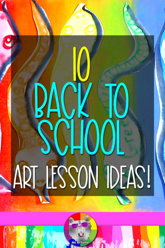Art Teachers, in this episode I'm going to give you 10 fresh and new art projects, activities, and ideas for Back to School in your Art Classroom! These are all ready-to-go ideas that you can use in your classroom that have a lovely Back-to-School vibe and will have your students in your art classroom exploring art mediums, experimenting, and being creative! I got you my lovely friends! Alright, let's get into it!
