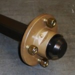 4 Inch Hub 200mm x 35mm Stub Axle