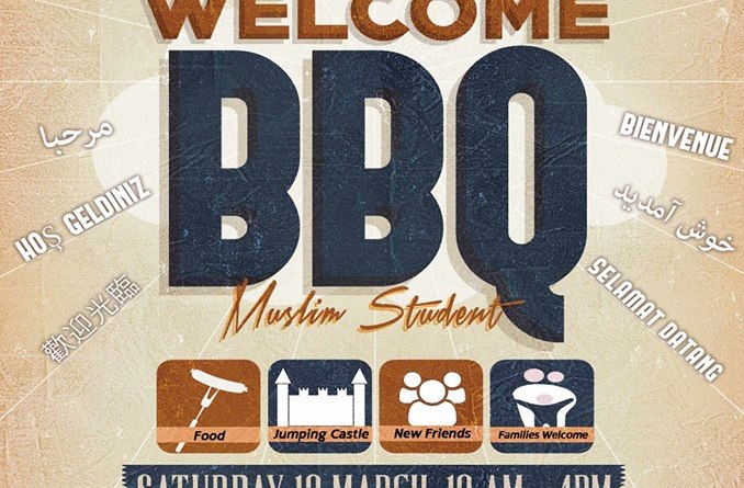 MSA AMYN Big Welcome BBQ