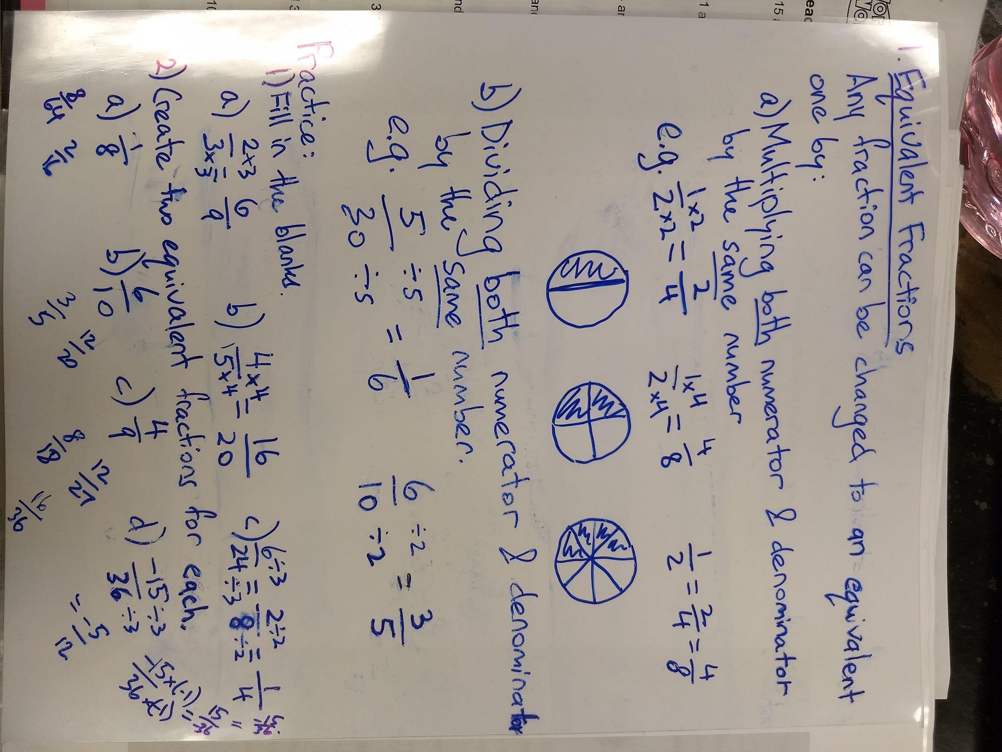 Unit 2 Fractions