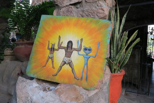 El Fuerte, ET connection in history
