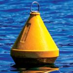 Yellow buoy