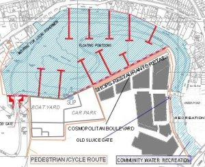 Queenborough Creek plan