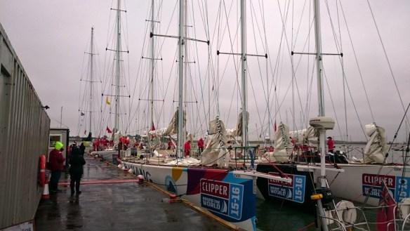 Clipper fleet visits Queenborough