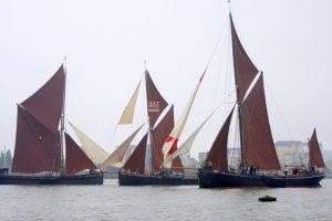 Medway Barge Match
