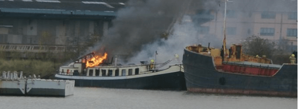 burning-barge