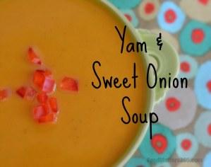 Yam & Sweet Onion Soup