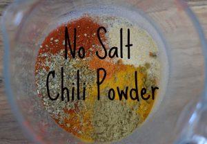 No Salt Chili Powder