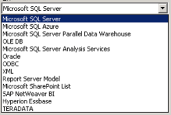SSRS 2012 Datasources