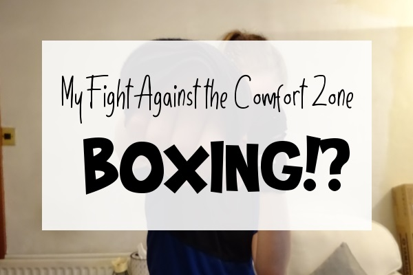 The Fight Against the Comfort Zone Boxing Caption over me Boxing