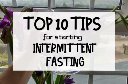 Top 10 Tips for starting Intermittent Fasting Caption