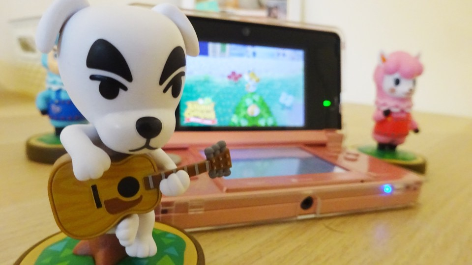 DJ KK and 3DS on Animal Crossing New Leaf showing my Animal Crossing Journey
