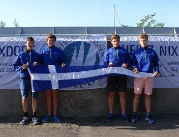 FSC Ansgar von Velsen, Nils Drewniok, Ludwig Biethahn, Finian Bonhardt