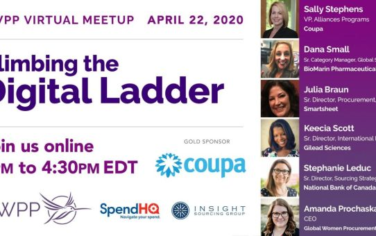 GWPP - Virtual Meetup - Climbing the Virtual Ladder (Video)