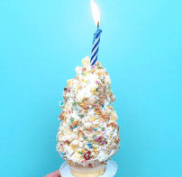Birthday cone!
