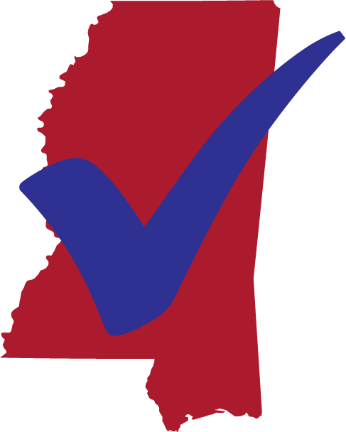 Mississippi Census Logo with checkmark