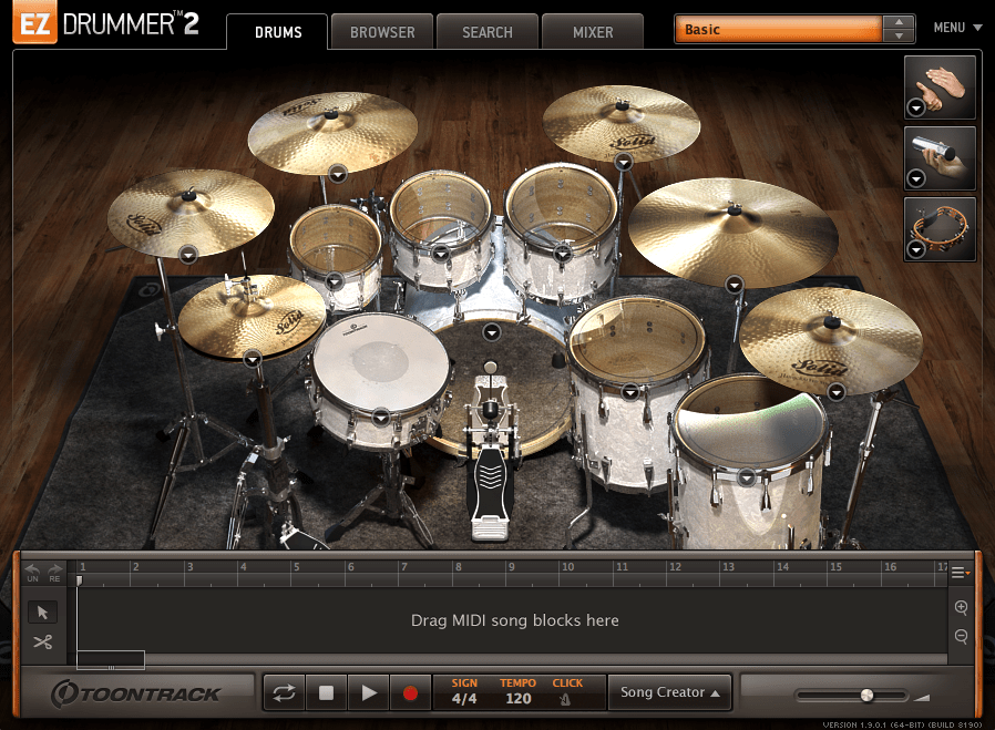 easy drum loop creator mac