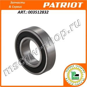 Подшипник вала привода щеток 25x47x12 мм. PATRIOT 003512832