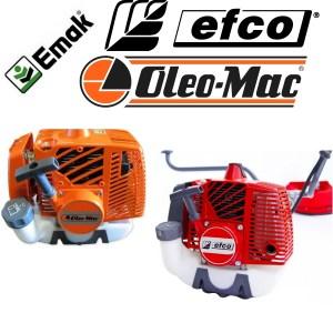Запчасти для бензокос и бензотриммеров EMAK: Oleo-Mac / EFCO
