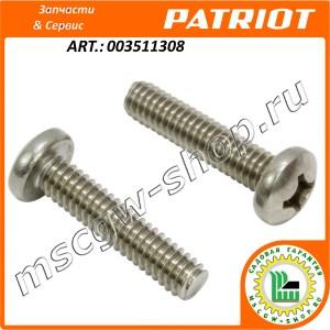 Винт M6x12 GB/T 818-2000 PATRIOT 003511308