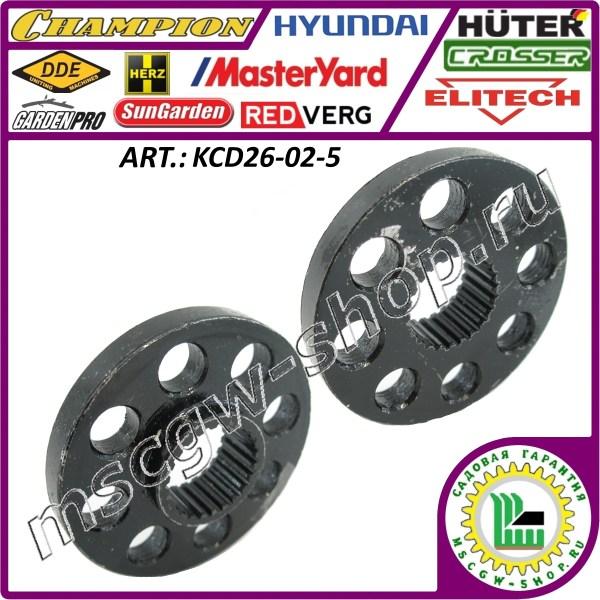 Фиксационный круг колеса 23x70 мм. KCD26-02-5