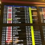 チャンギ国際空港のセルフチェックイン機でエアアジアの搭乗券を発行する方法