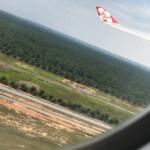 世界をまたにかける〇〇さんと一緒に飛んだ D7 1便・〇〇さんが羨ましいぃ(^^)