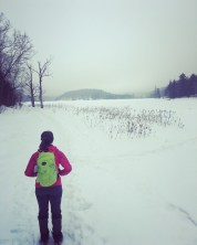 Hiking in Gatineau Park