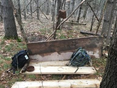 Comfy bench-building