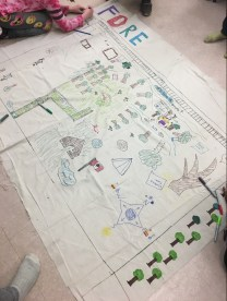 Forest school nearby-nature map (in progress)