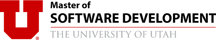 Master of Software Development | University of Utah Logo