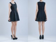 MS-CAP170A Brigitta Black Dress PRICE : RP 114.400