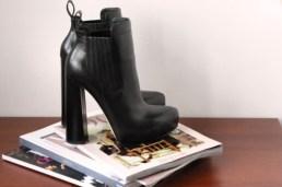 Nice stacked heel bootsie.