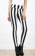 Stripped Legging