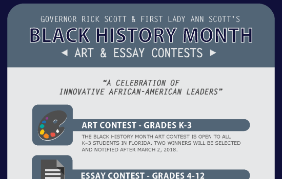 Governor Rick Scott and First Lady Ann Scott's Black History Month