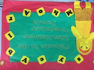 Vocabulary Parade Sign (1)