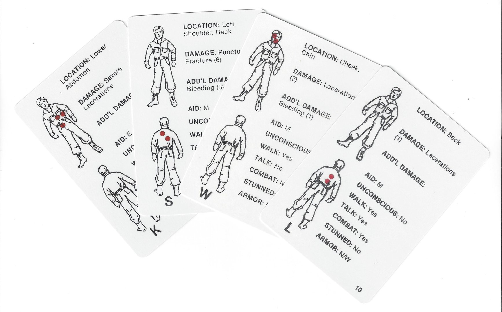 Casualty Cards